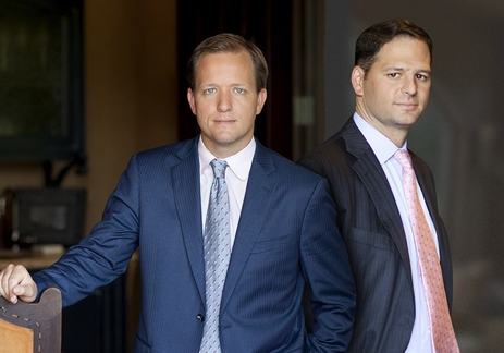 Celadon Group truck accident lawyers Kurt Arnold and Jason Itkin.